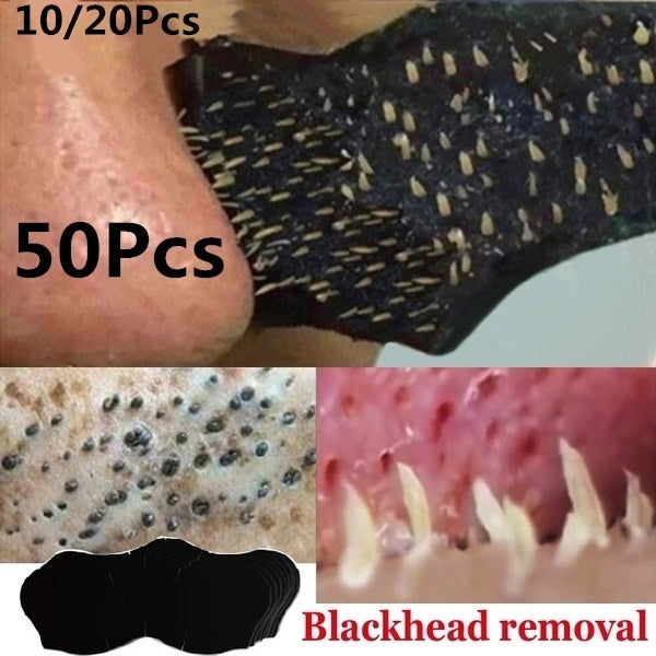 Blackhead Acne Removal Strong Stickers Nose Blackhead Pore Cleansing Cleaner 10/20/50/100Pcs