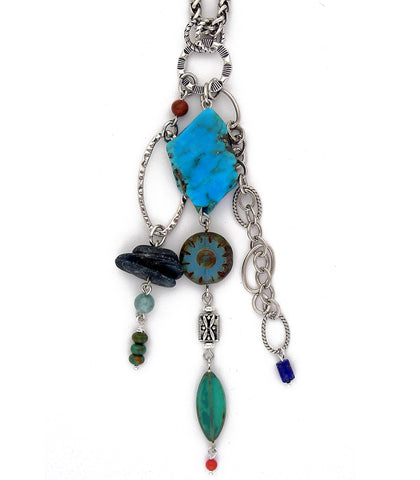 Blue Mesa Necklace - #1027-N