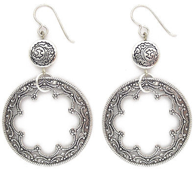 Silver Solstice Earring - #1072-E1