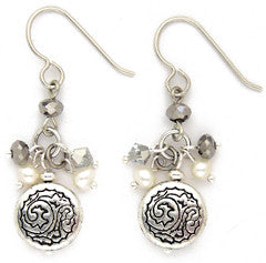 Silver Solstice Earring - #1072-E2