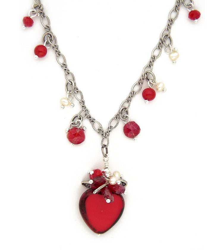 De La Heart Necklace - #1079-N