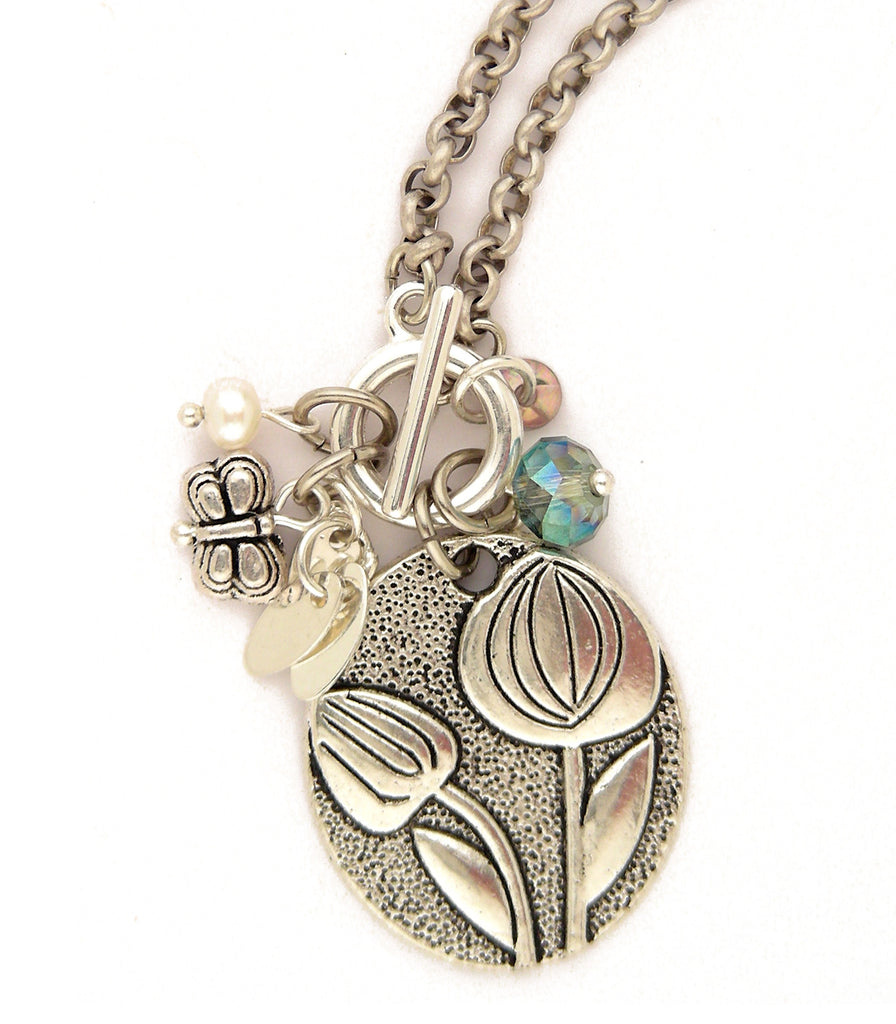 Landscape Necklace - #1117-TN