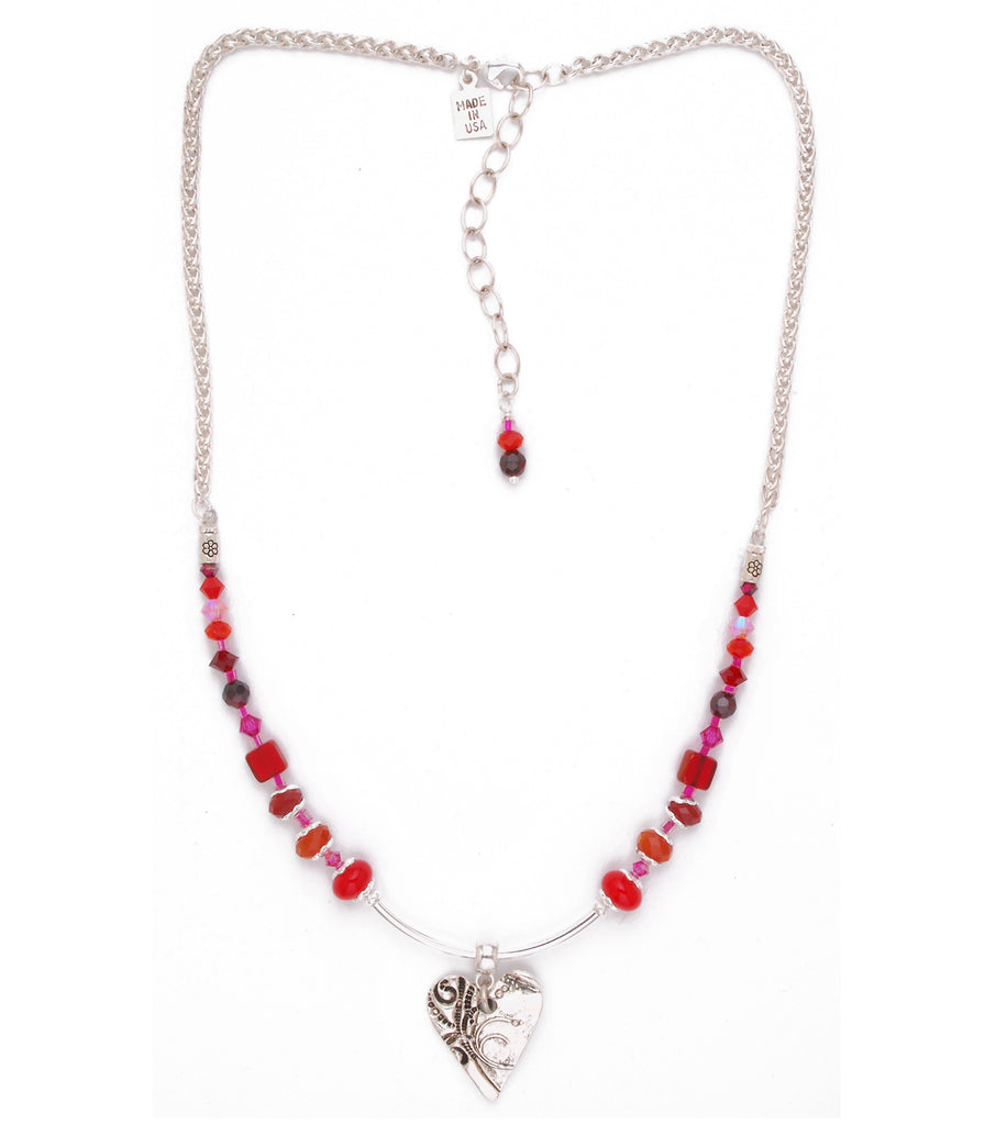 For My Valentine Necklace - #1202-N1