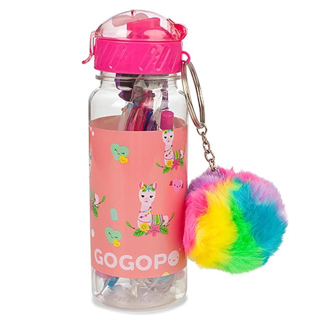 GoGoPo Llama Surprise Stationery Bottle