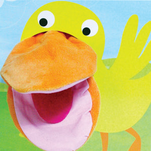 The HUNGRY DUCK Hand Puppet Book