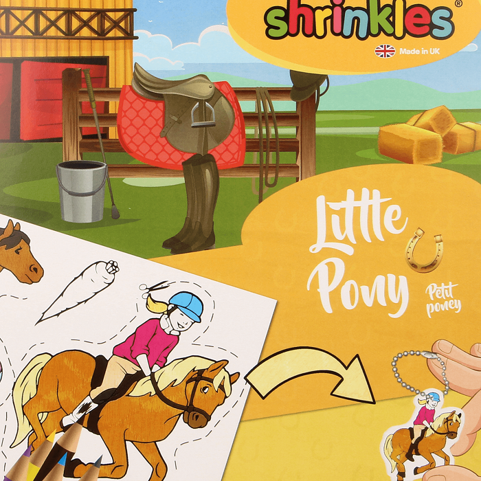 Shrinkles Little Pony Bumper Box