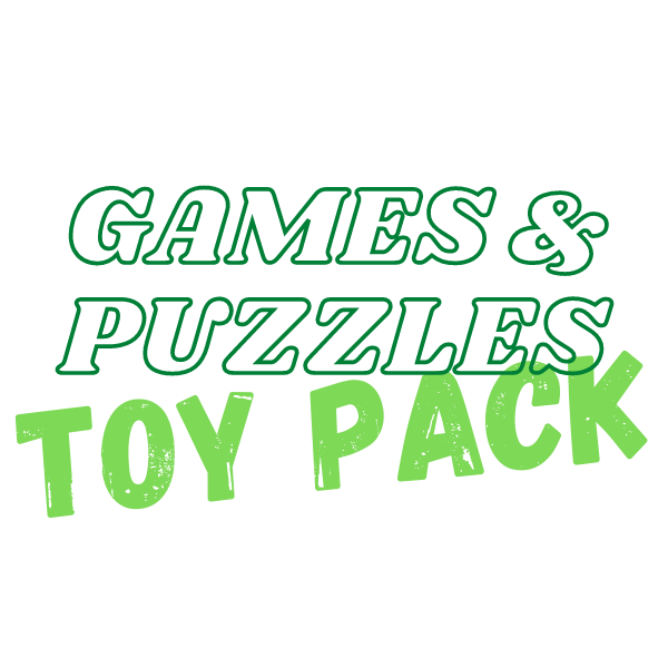 Games & Puzzles Toy Pack (3 - 5 years)