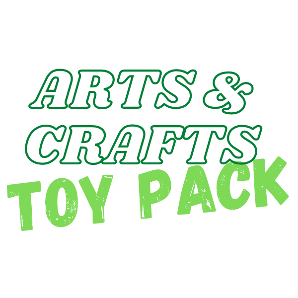 Arts & Crafts Toy Pack (4 - 12 years)