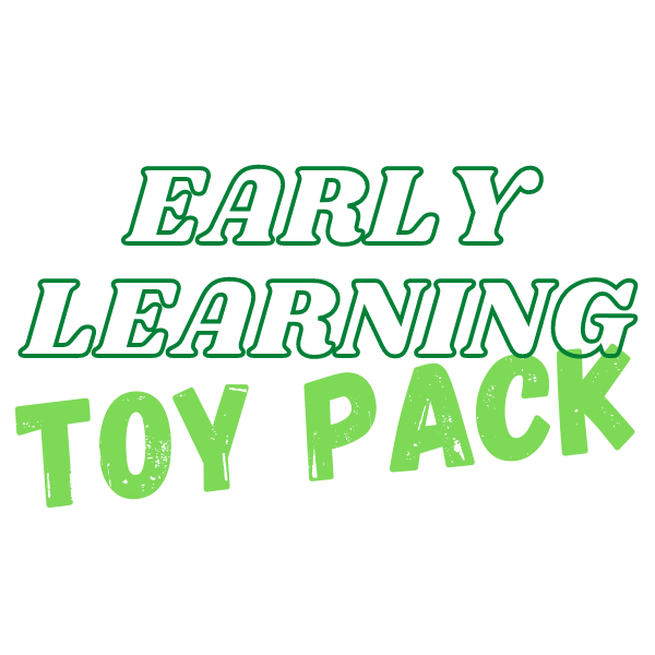 Early Learning Toy Pack (18 Months - 3 years old)