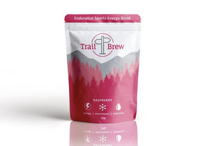 Raspberry Trail Brew (1kg) - with (100% Organic Raspberry powder) [NEW FLAVOUR]