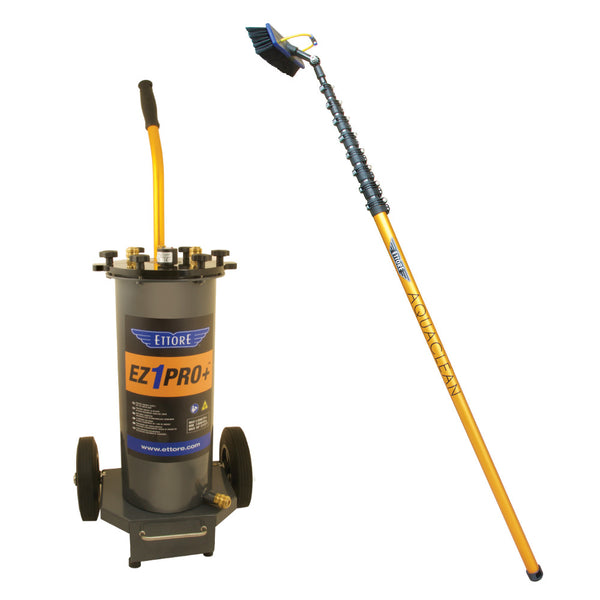 Ettore EZ1 PRO+ Kit w/Aquaclean Waterpole