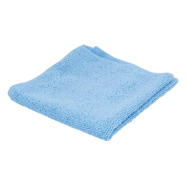 Ettore 16x20 Inch Blue MicroSwipe Cloth (EACH)