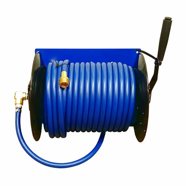 Ettore Add-on Hose Reel w/100 Feet of Hose for the PW3 Cart