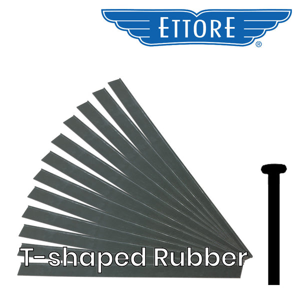 Ettore T-Shaped Squeegee Rubber - By the Dozen