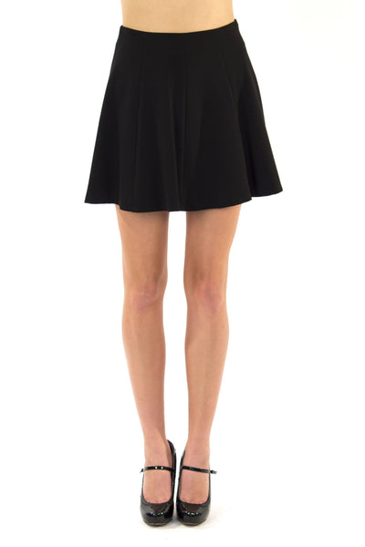 Mini Skater Skirt - Black