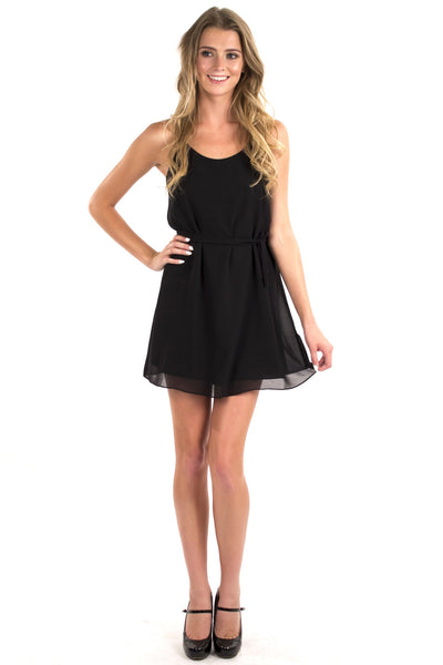Speed Racer Dress - Black