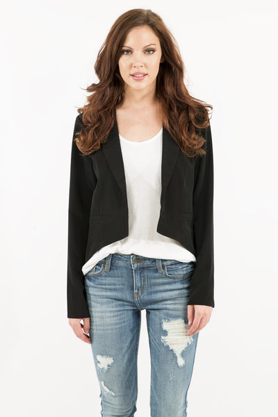 High-Low Blazer
