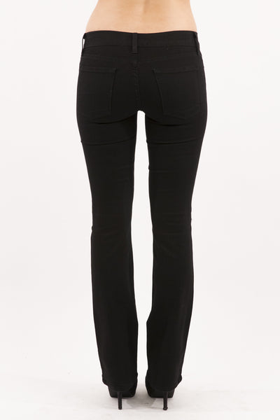Low Rise Boot Cut Jean - Black by Eunina Jeans