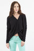 Twist Me Up Cotton Sweater - Black