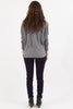 Twist Me Up Cotton Sweater - Gray