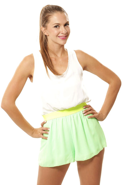 Double Time Romper - Green