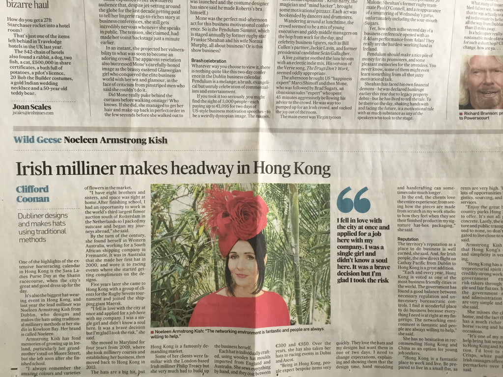 Irish milliner Hong kong