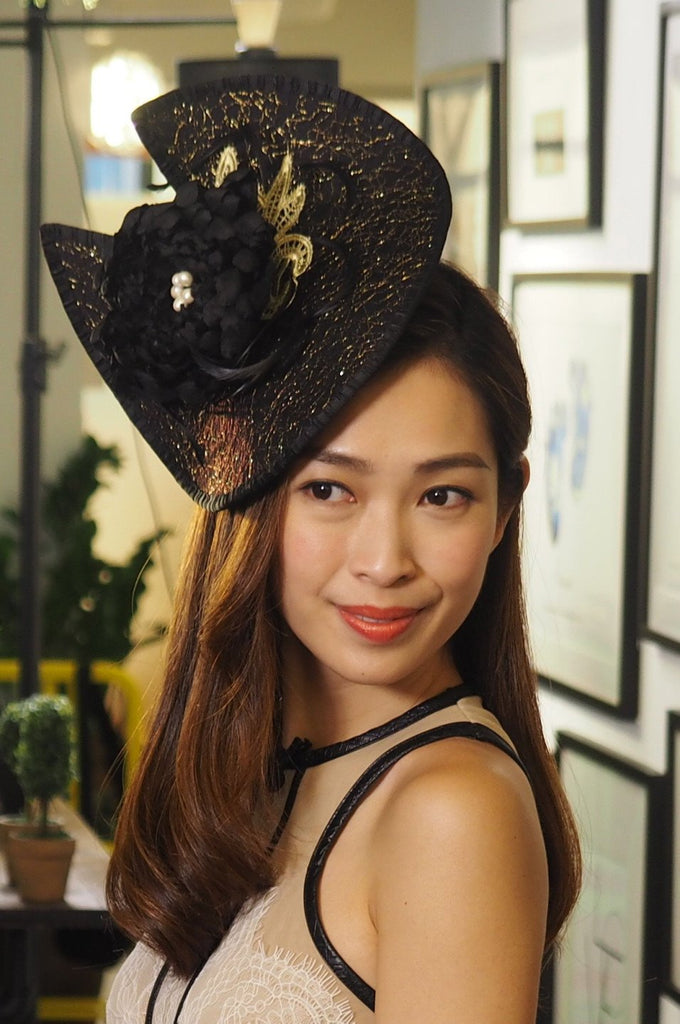 medium size race day hats and headwear designer luxury hats