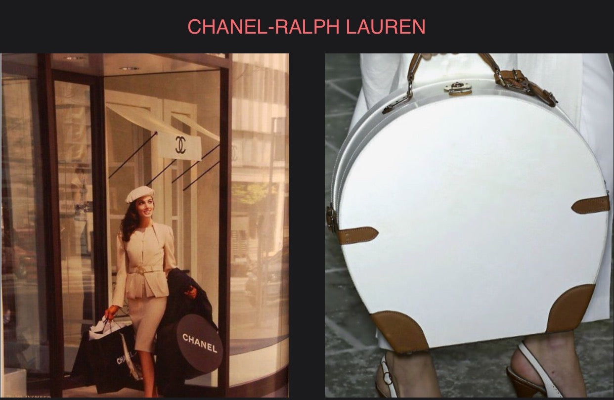 Chanel Hat box - Ralph Lauren Hat Box