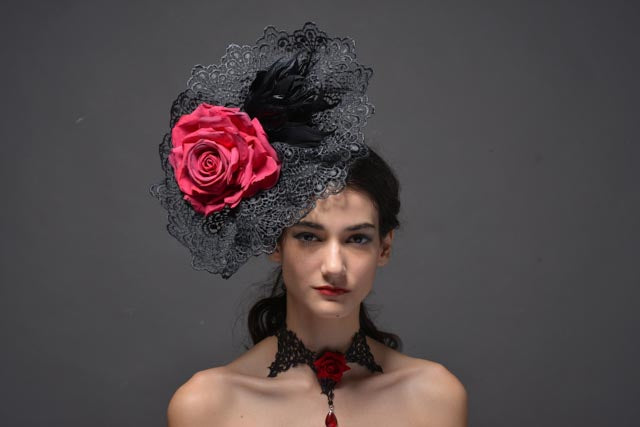 Statement Hat for special occasions race day, weddings, fashion shows