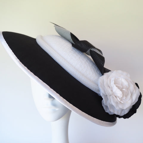 Royal Ascot - Hat Made to Order, can be recreated in various colours and materials - NOELEEN MILLINERY HONG KONG