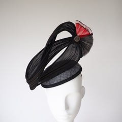 Captain's Bar - Contact Us for custom headpiece - NOELEEN MILLINERY HONG KONG