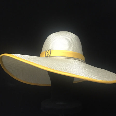 Wide brim luxurious Panama hat designer hat Hong Kong