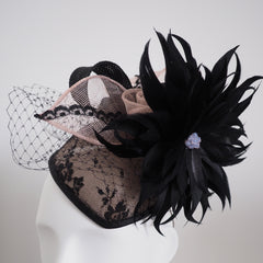 Glamour Puss - Made to Order in any colour or material - NOELEEN MILLINERY HONG KONG