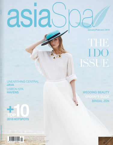 Asia spa magazine hat style noeleen millinery