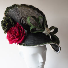 Elegant Feminine Hat -  Large Statement Hat - NOELEEN MILLINERY HONG KONG