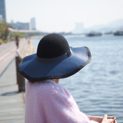 Autumn Winter Felt Floppy - Made to Order available in various colours - NOELEEN MILLINERY HONG KONG