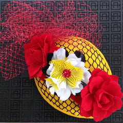 Maryland Gal Derby headpiece - NOELEEN MILLINERY HONG KONG