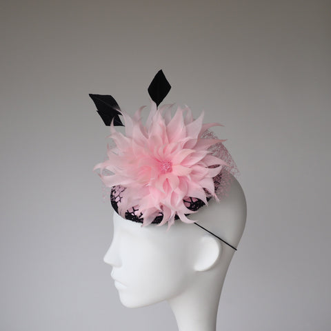 Vegas Strip - Made to Order in other colours 1920's inspired headpiece - NOELEEN MILLINERY HONG KONG