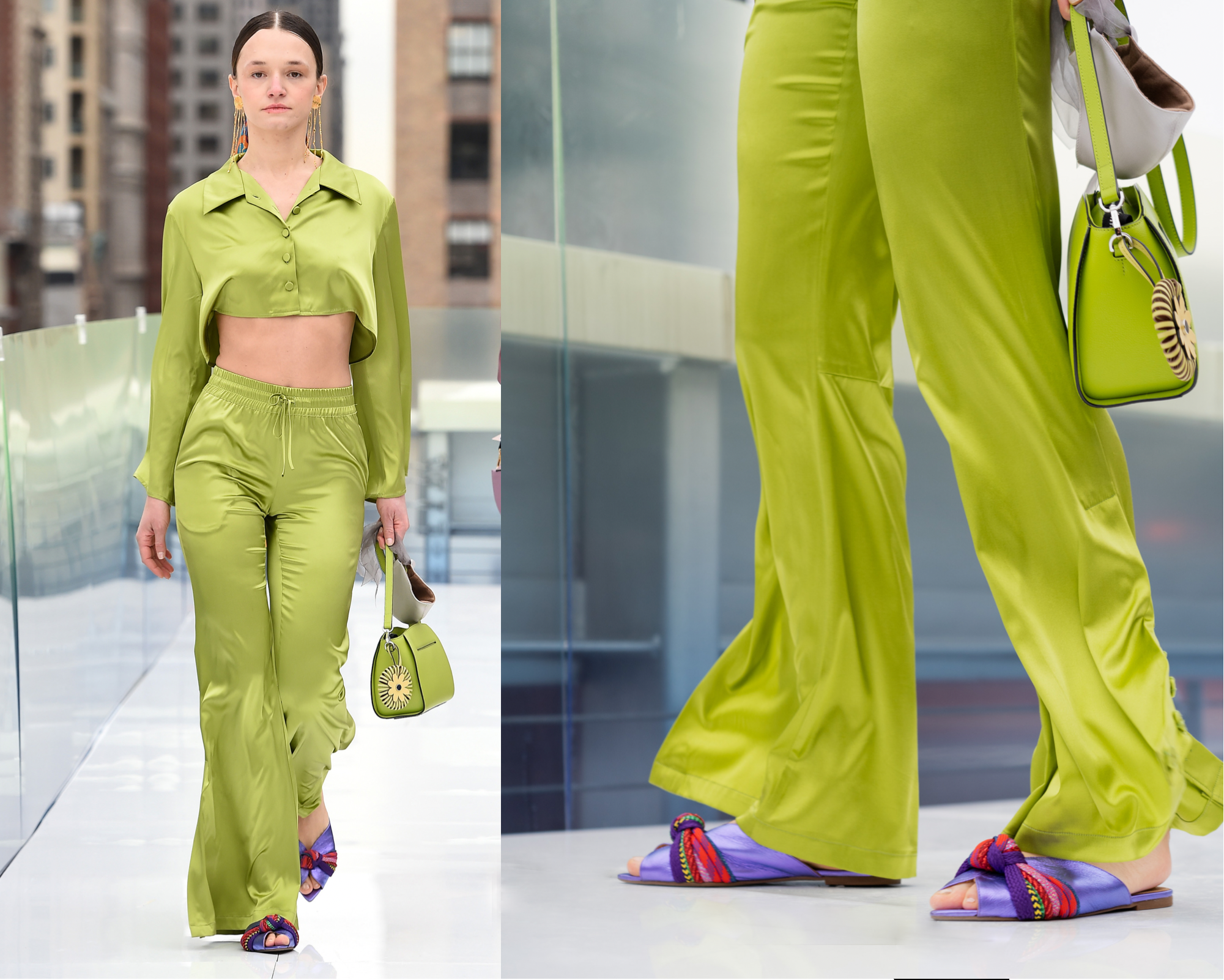 NYFW, New York Fashion Week, Shoes, NYFW Shoes, Models, sandals, trend, Handmade shoes, handcrafted