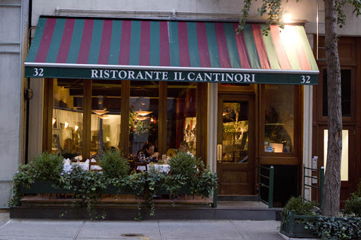 Tuscan cooking & wines await at this low-lit, flower-filled celebrity hangout. II Cantinori. Sex and the city spots.