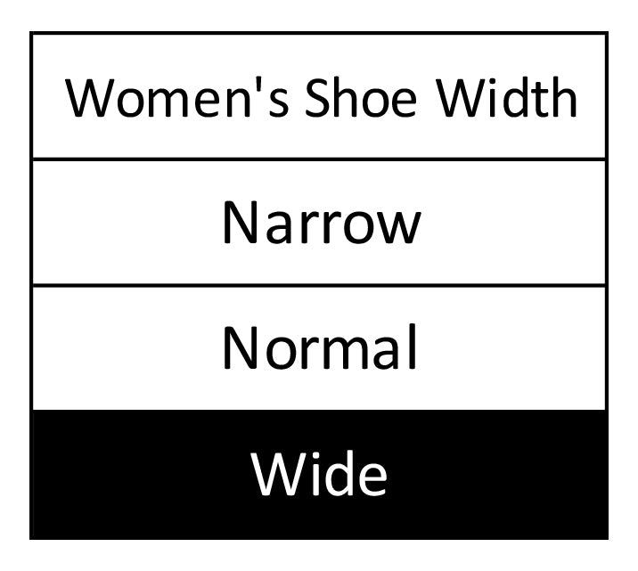 Woman's wide shoes