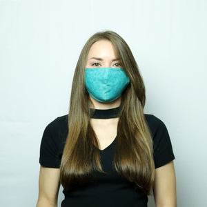 Reversible Mask Green Splash - Tartiz Inc