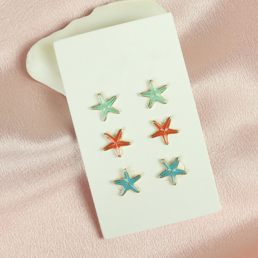 Patricia Star Earrings - Tartiz Inc