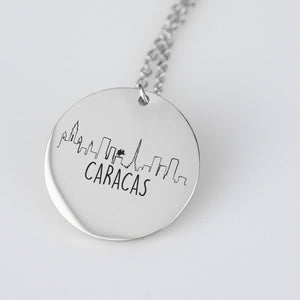 Caracas Venezuela Necklace