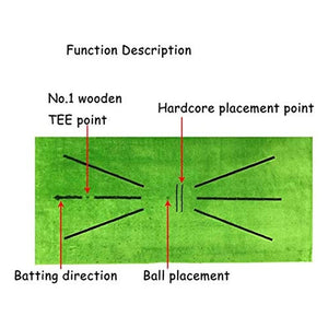 Swing Detection Golf Mat™ | Mini Golf Mat!
