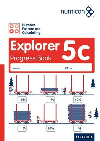 Numicon Number Pattern and Calculating 5 Explorer Progress Book C Pack of 30