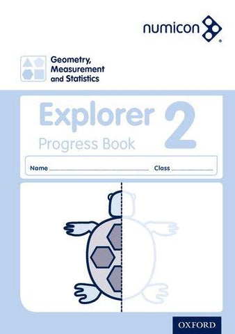 Numicon Geometry, Measurement and Statistics 2 Explorer Progress Book (Pack of 30)