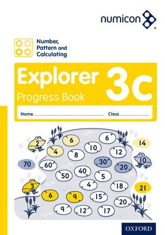Numicon Number, Pattern and Calculating 3 Explorer Progress Book C (Pack of 30)