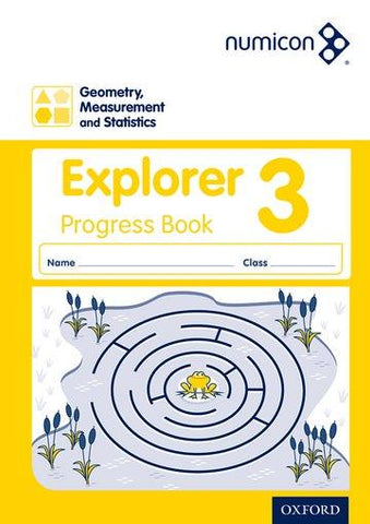 Numicon Geometry, Measurement and Statistics 3 Explorer Progress Book