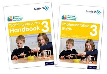 Numicon Geometry, Measurement and Statistics 3 Teaching Pack